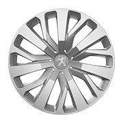 Enjoliveur Peugeot Rifter  16 pouces