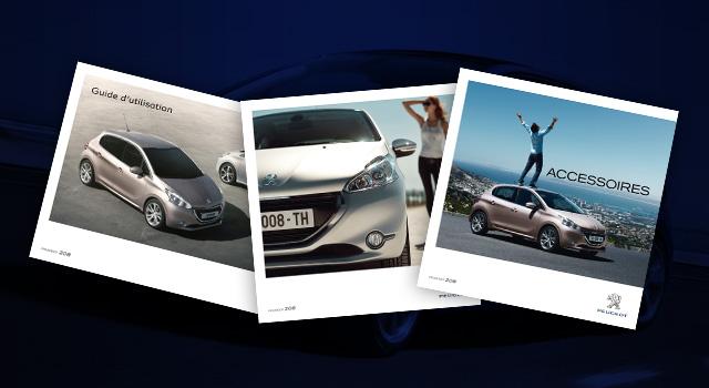 Brochures et Documentations de la Peugeot 208 I