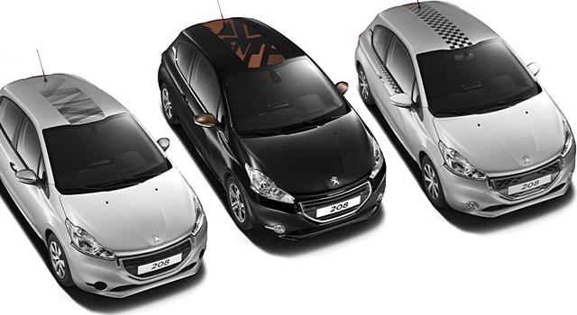 Accessoires et Références de la Peugeot 208