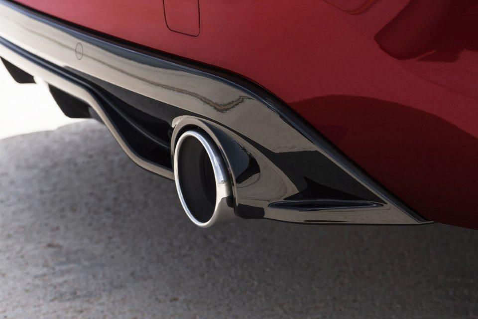 Pot d'échappement Peugeot 308 GTi by Peugeot Sport