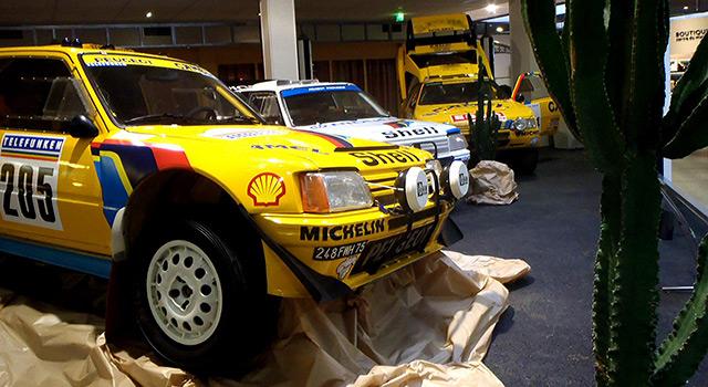 Nouvelle expo « Peugeot et le Dakar » au Musée de l'Aventure Peugeot !