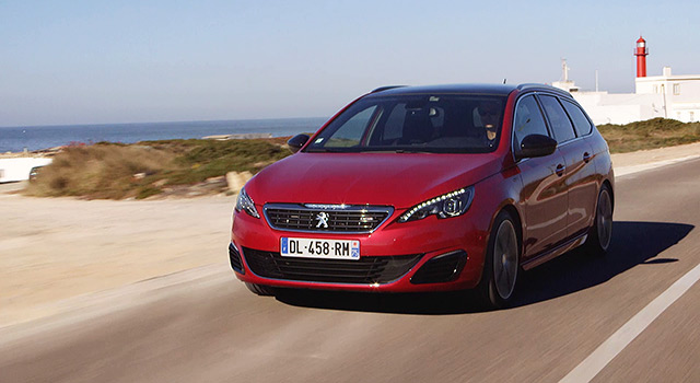 essais peugeot 308 gt et 308 sw gt vid o officielle 2015 vid os f line. Black Bedroom Furniture Sets. Home Design Ideas