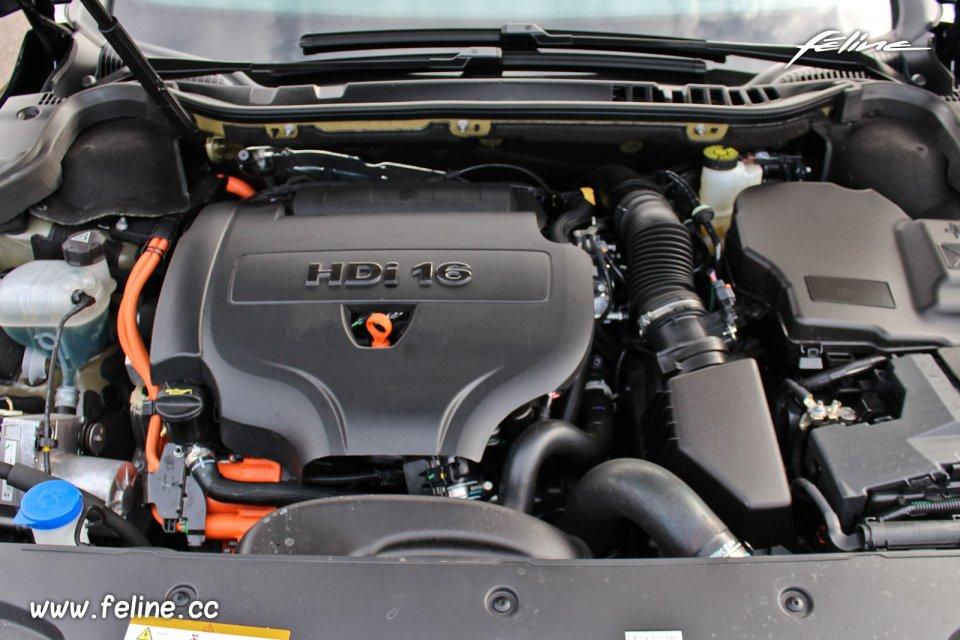 Moteur Peugeot 508 RXH HYbrid4