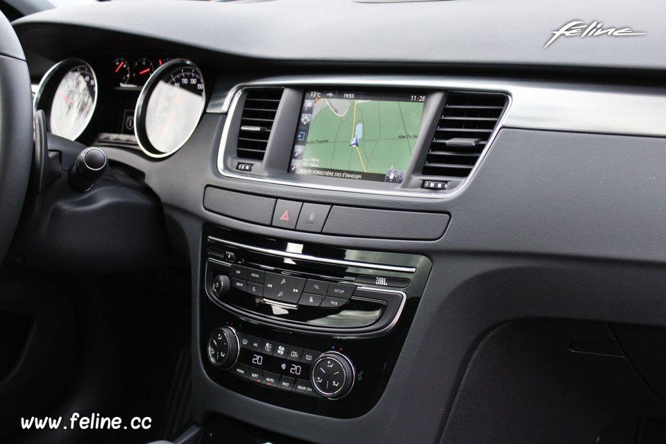 Ecran tactile Peugeot 508 RXH HYbrid4