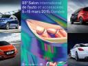 Peugeot au Salon de l'automobile de Genève 2015