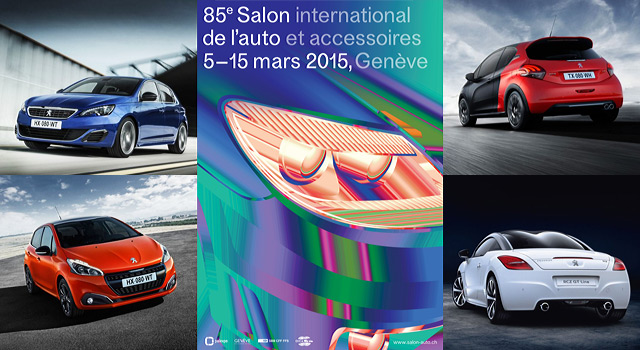 Peugeot au salon de l automobile de gen ve 2015 news f line - Salon de geneve 2015 nouveaute ...