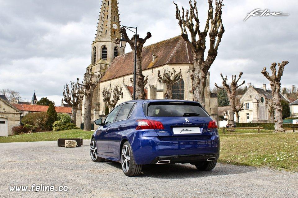futur peugeot 308 blue hdi 180 auto