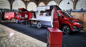 FoodTruck Peugeot : présentation du Bistrot du Lion à Paris !