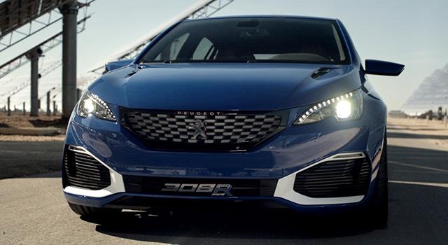 Peugeot 308 R HYbrid – Vidéo officielle (2015)