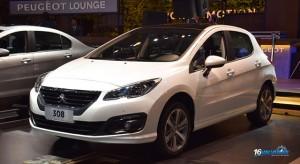 Peugeot 308 au Salon de l'automobile de Buenos Aires 2015