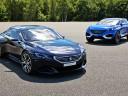 Les concepts Peugeot Exalt et Quartz sur le circuit de Mortefontaine !