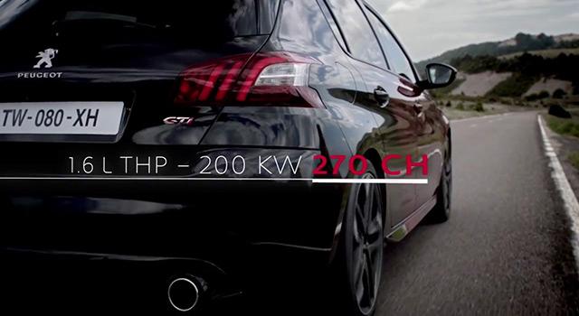 Moteur 1.6 THP 270 ch – Peugeot 308 GTi by Peugeot Sport (2015)
