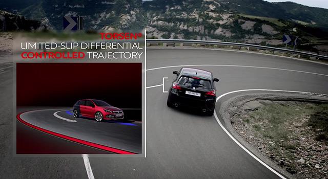 Teaser différentiel Torsen – Peugeot 308 GTi 270 by Peugeot Sport (2015)