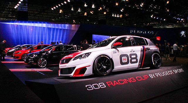 Photos : le stand Peugeot au Salon de Francfort 2015