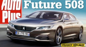 Photos future Peugeot 508 II : prévue pour 2017 !