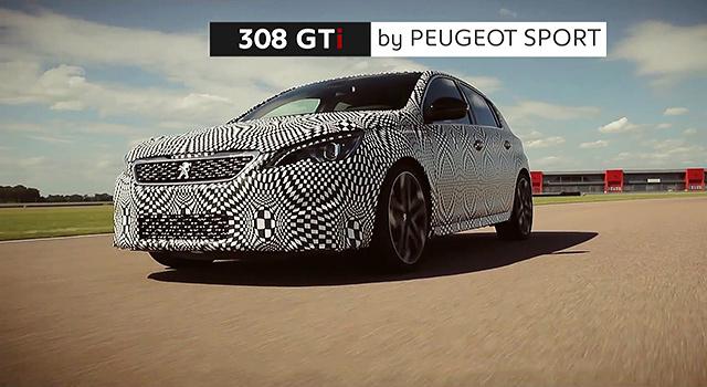 Vidéo Peugeot 308 GTi by Peugeot Sport : dernière séance de mise au point