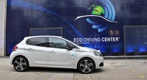 """Peugeot présente son """"Eco Driving Center"""" à Paris pour la COP 21"""