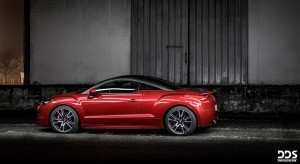 Photos : la Peugeot RCZ R mise en lumière par DDS Photographe
