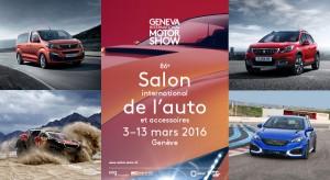 Peugeot au Salon de l'automobile de Genève 2016