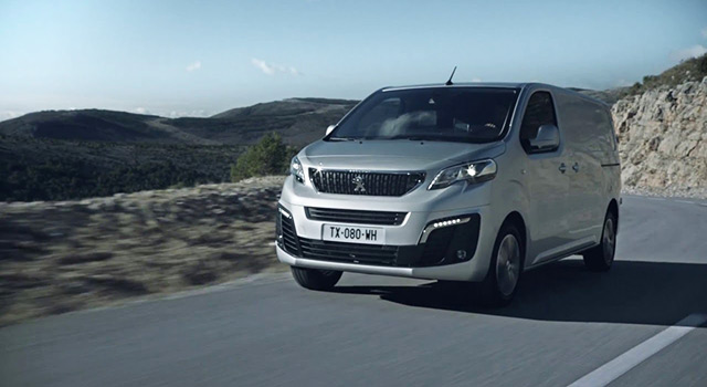 Nouveau Peugeot Expert III - Vidéo officielle (2016)