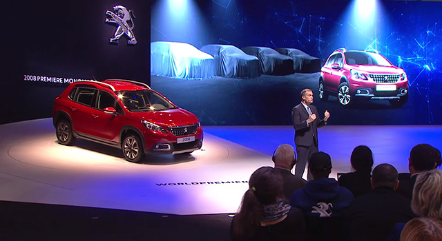 Conférence de presse Peugeot - Salon de Genève 2016