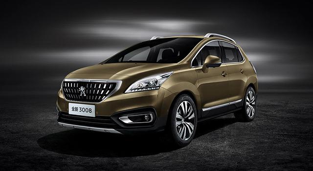 Photos de la Peugeot 3008 I Chine restylée : présentation officielle