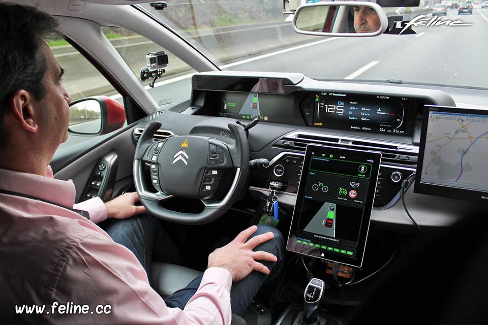 Premier Auto Group >> A la découverte de la voiture autonome du Groupe PSA - Reportages Féline