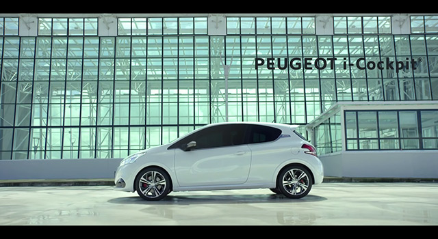 Vidéos officielles Peugeot i-Cockpit Effect – Kart (2016)