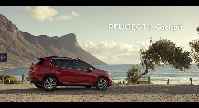 Vidéos officielles Peugeot i-Cockpit Effect – Surf (2016)