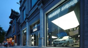 Peugeot Avenue Beijing : Peugeot installe sa nouvelle vitrine en Chine au cœur de Pékin !