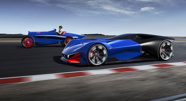 Peugeot L500 R HYbrid : Clin d'œil du passé, style du présent, technologie du futur