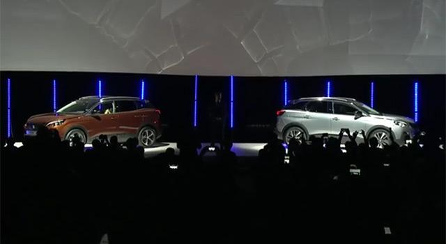 Présentation Peugeot 3008 II – Conférence de presse (2016)