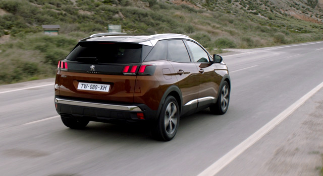 Design ext rieur peugeot 3008 ii vid o officielle 2016 for 3008 exterieur