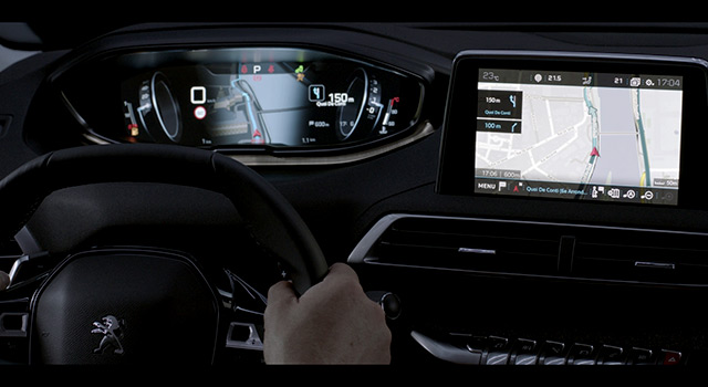 Design intérieur i-Cockpit Peugeot 3008 II – Vidéo officielle (2016)