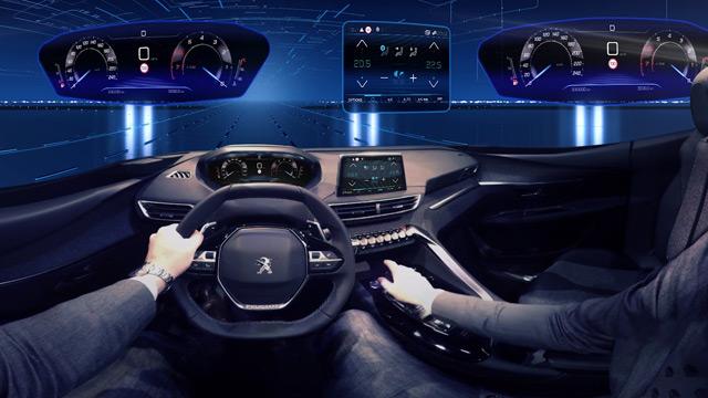 Vidéo 360° : le Peugeot i-Cockpit de la nouvelle Peugeot 3008 II
