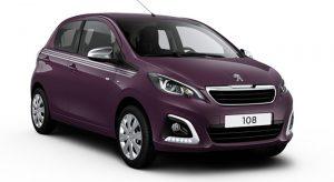 Peugeot 108 Style : une nouvelle série spéciale