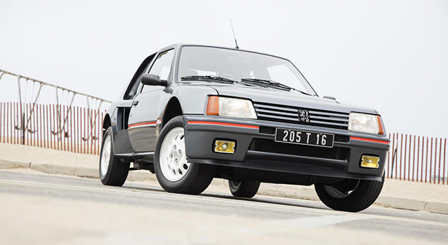 Enchères : une Peugeot 205 Turbo 16 estimée entre 180.000 et 270.000 € !