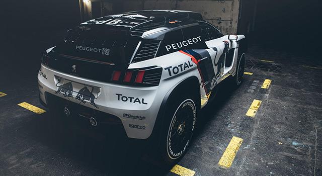 La nouvelle Peugeot 3008 DKR à l'assaut du Dakar 2017 !
