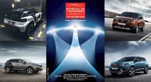 Peugeot au Mondial de l'Automobile de Paris 2016
