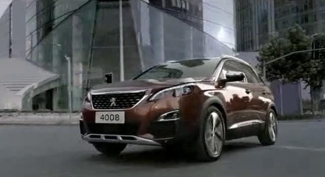 Nouvelle Peugeot 4008 II Chine – Vidéo officielle (2016)