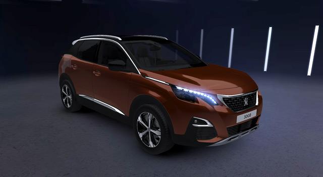 Peugeot Amplified Experience : la nouvelle Peugeot 3008 à découvrir en réalité virtuelle