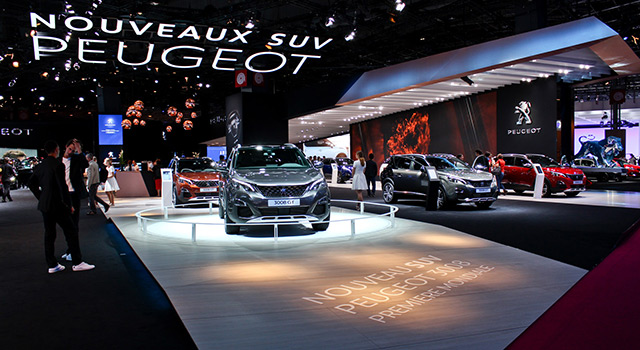 Photos : Peugeot au Mondial de l'Automobile de Paris 2016