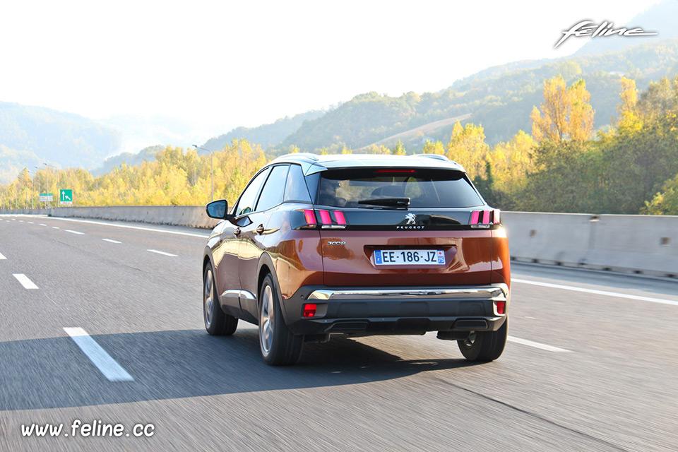 Photo essai autoroute Peugeot 3008 II