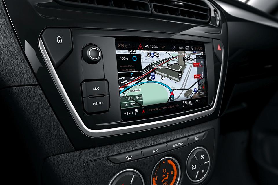 Photo écran tactile Peugeot 301 restylée (2016)