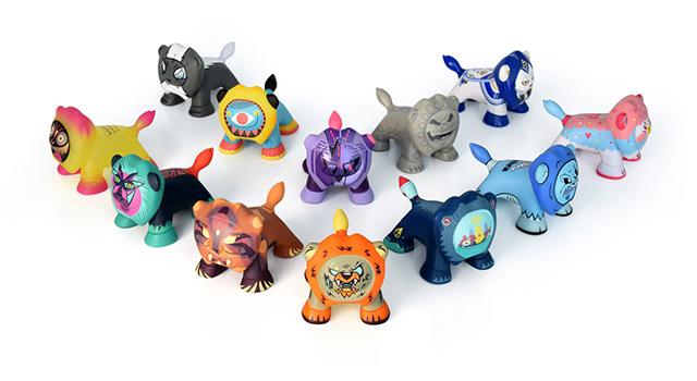 Peugeot dévoile la Série 3 des Art Toys Leo'z
