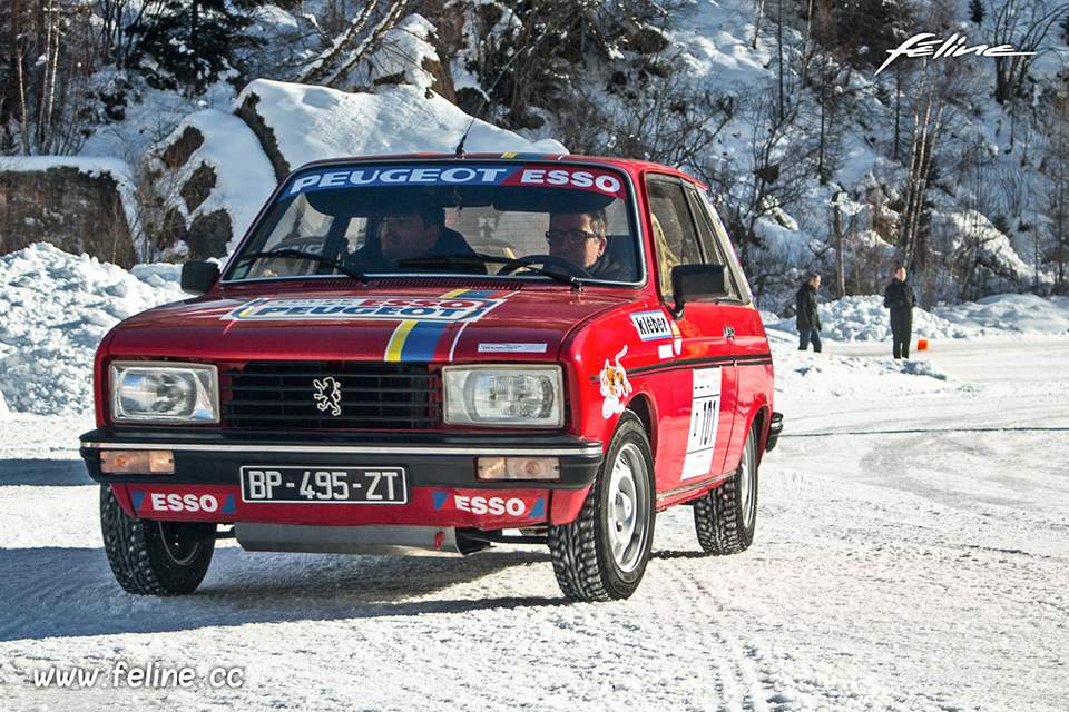 Photo essai Peugeot 104 ZS - Peugeot Winter Experience 2017