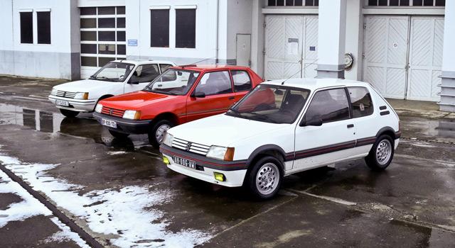 Concours Peugeot #MonSacréNuméro : Les 205 sortent (presque) d'usine !