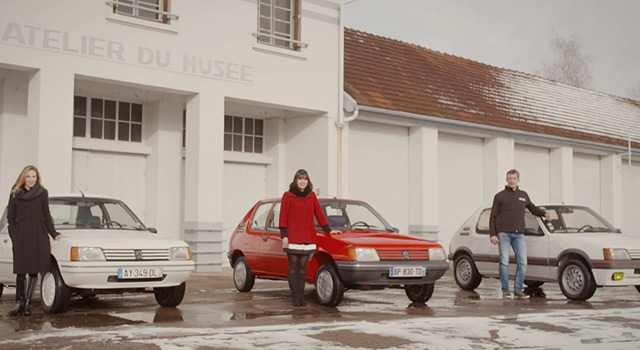Vidéo : la remise des clés des Peugeot 205 du concours #MonSacréNuméro !