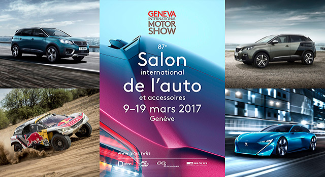Peugeot au salon de l automobile de gen ve 2017 news f line for Salon geneve auto