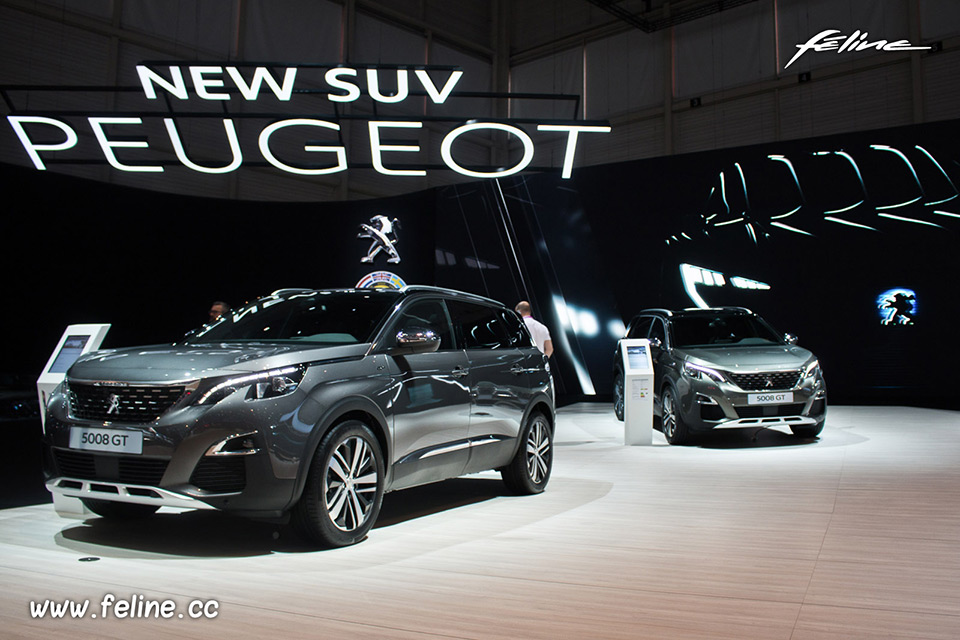Photos du salon de gen ve 2017 peugeot confirme son for Salon de l auto geneve tarif